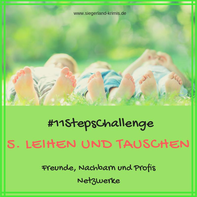 #11StepsChallenge Tag 5, leihen und tauschen
