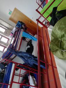 Caminho Portugues Tag 5 - Blick ins Acht-Bett-Zimmer