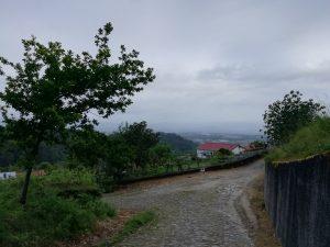 Caminho Portugues Tag 6 - kleiner Ort im Gebirge
