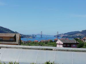 Caminho Portugues Tag 8 - Brücke Puente de Rande bei Vigo