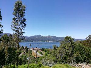 Caminho Portugues Tag 8 - Blick auf die Bucht von Vigo