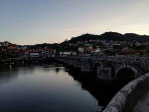 Caminho Portugues Tag 9 - Die Brücke von Arcade
