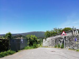 Caminho Portugues Tag 9 - Landschaft mit Bergen