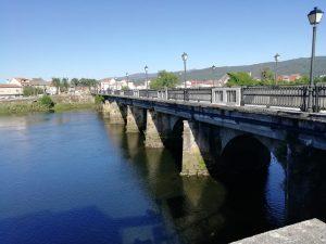 Caminho Portugues Tag 11 - Brücke bei Pontecesures