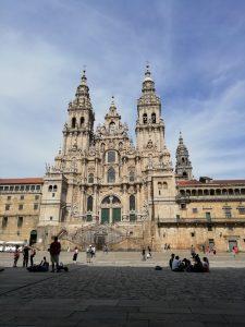 Caminho Portugues Tag 12 - Die Kathedrale in Santiago de Compostela