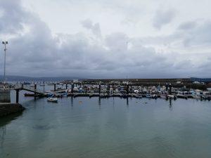Caminho Portugues - Kap Fisterra - der Hafen von Fisterra