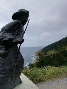 Caminho Portugues - Kap Fisterra - Pilgerstatue