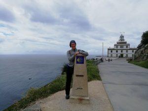 Caminho Portugues - Kap Fisterra - der Null-Kilometer-Stein