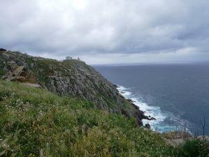Caminho Portugues - Kap Fisterra - Felsen und tosende Atlantikküste