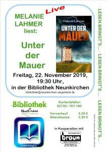 22.11.19 in der Bibliothek Neunkirchen/Siegerland
