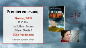 19.11.19 im KulTour Backes in Freudenberg