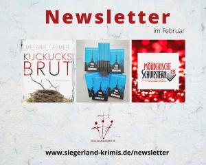 Der Siegerland-Krimis-Newsletter